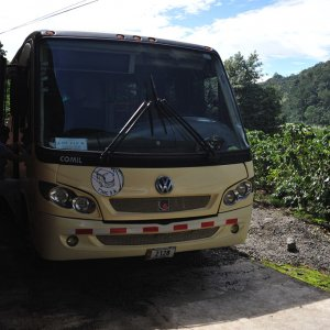 TDI tour bus