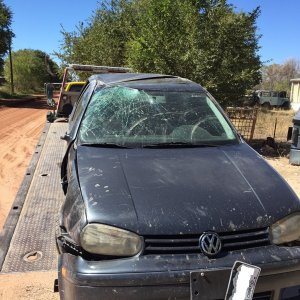 Wrecked 05 Golf 5spd