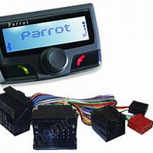 parrot b/t unit with 04-05 Passat adpter harness