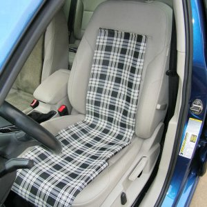 GSW SE seat - plaid panel