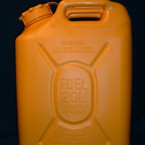 jerry can, side view