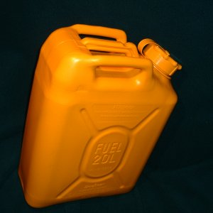 jerry can, profile shot