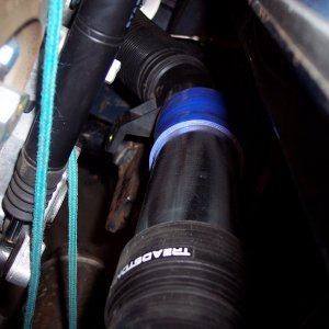 Intake piping to the TDI Turbo