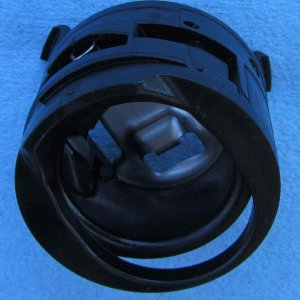 Iso view of 2013 Jetta misfuel adapter