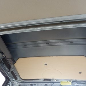 B4 Passat Interior Headliner Removed 6